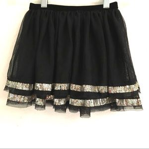 Cherokee layered sequin tutu skirt 4